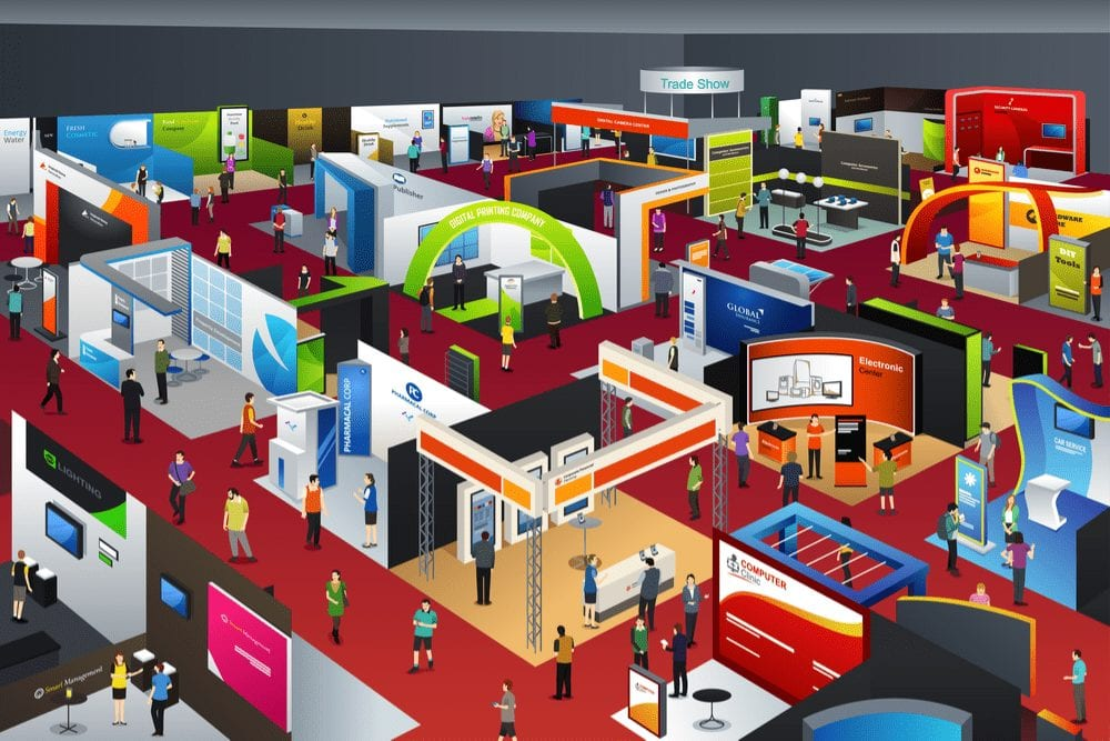 Setting Up A Trade Show Booth And Setting Up Your Exhibit At Your Venue